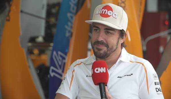Fernando Alonso - Formel 1 - Foto: CNN International / The Circuit