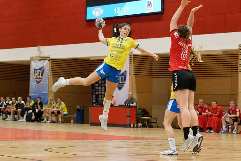 Lucy-Marie Kretzschmar - HC Leipzig vs. HV Chemnitz - Handball dritte Liga - Foto: HC Leipzig