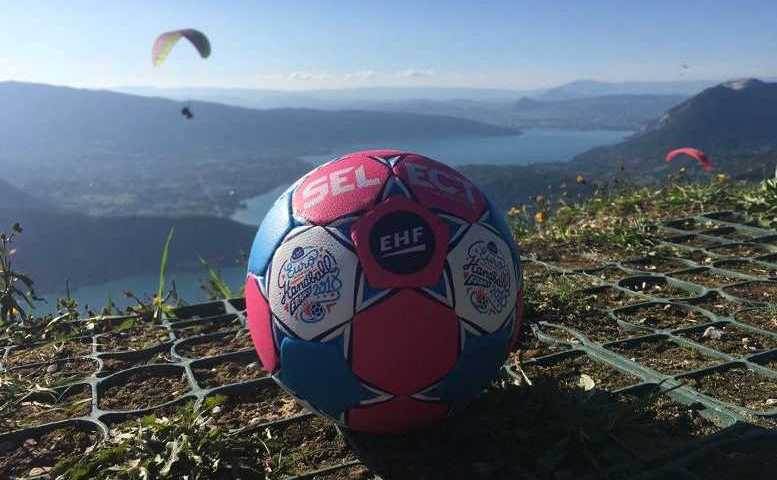 Handball EHF EURO 2018 Ball - Foto: EHF Media / France 2018