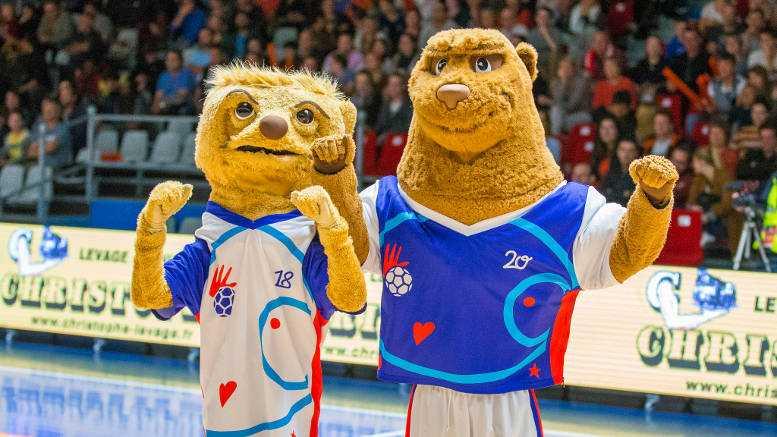 Handball EM 2018 Frankreich Maskottchen - Foto: EHF Media / France Handball