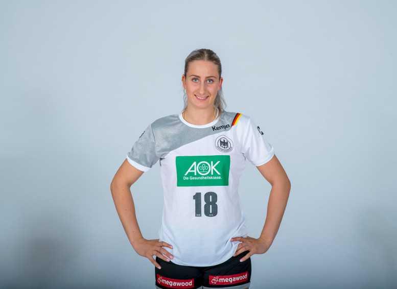 Mia Zschocke - Deutschland - DHB - Handball EM 2018 Frankreich - Foto: Sascha Klahn/DHB