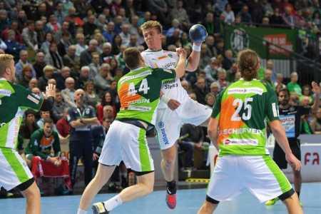 Franz Semper - HSG Wetzlar vs. SC DHfK Leipzig - Handball Bundesliga - Foto: Rainer Justen