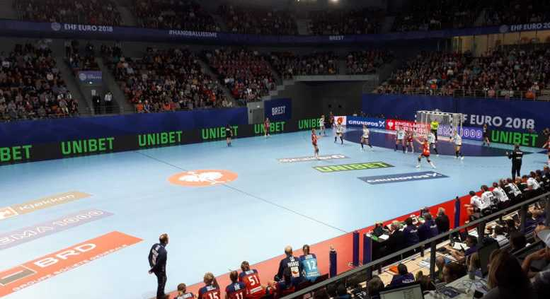 Handball EM 2018 - Deutschland vs. Norwegen - Brest am 01.12.2018 - Foto: DHB