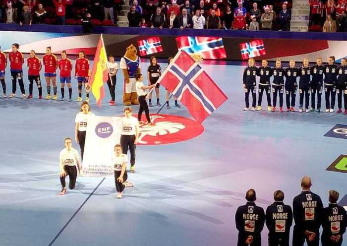 Handball EM 2018 - Norwegen vs. Spanien - Nancy am 12.12.2018 - Foto: SPORT4FINAL
