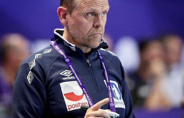 Handball EM 2018 - Thorir Hergeirsson - Norwegen - Foto: Joachim Schütz (http://www.stregspiller.com)