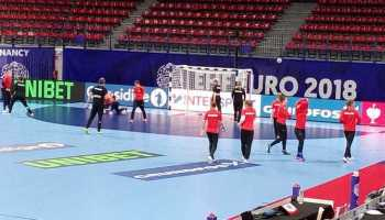 Handball EM 2018 Training Deutschland in Nancy am 06. Dezember 2018 - Foto: SPORT4FINAL
