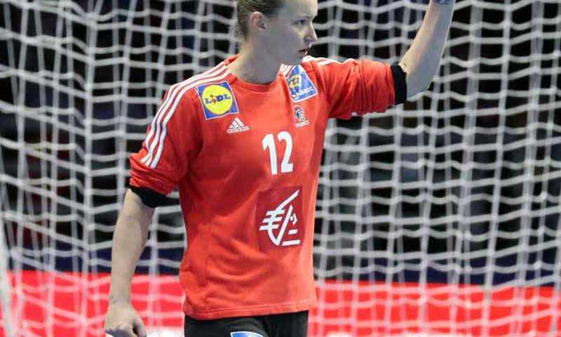 Handball EM 2018 - Amandine Leynaud - Frankreich vs. Dänemark - Copyright: FFHandball / S. Pillaud