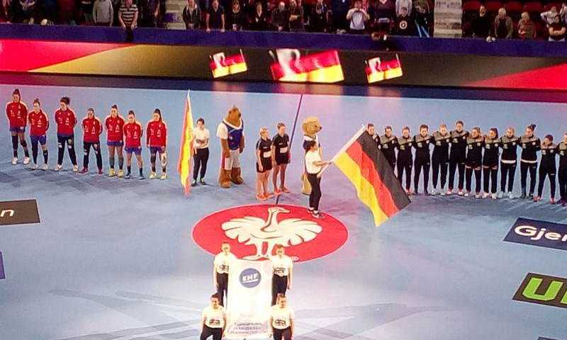Handball EM 2018 - Deutschland vs. Spanien - Foto: SPORT4FINAL