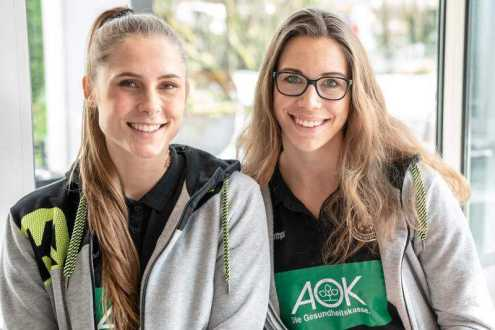Handball EM 2018 - Emily Bölk und Alicia Stolle im SPORT4FINAL-Interview - Foto: Michael Schmidt (https://www.facebook.com/Michael-Photography-243763859077117/)