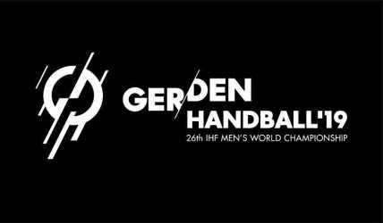 Handball WM 2019 Deutschland Dänemark Logo - DHB - Foto: Max Menning / DHB