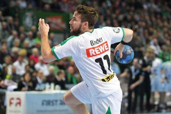 Lukas Binder - HSG Wetzlar vs. SC DHfK Leipzig - Handball Bundesliga - Foto: Rainer Justen