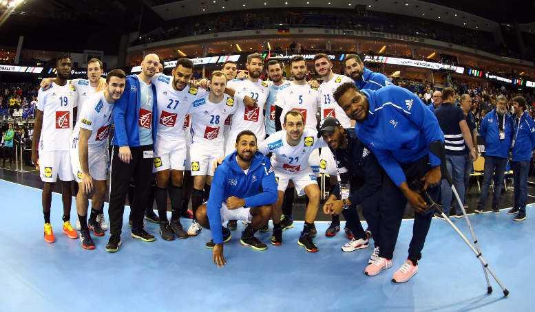Handball WM 2019 - Frankreich vs. Russland - Copyright: FFHandball / S. Pillaud