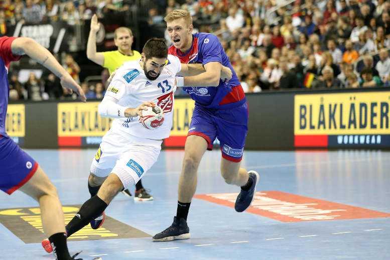 Handball WM 2019 - Nikola Karabatic - Frankreich vs. Russland - Copyright: FFHandball / S. Pillaud