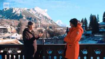 Ester Ledecka im CNN Interview - Foto: CNN Alpine Edge