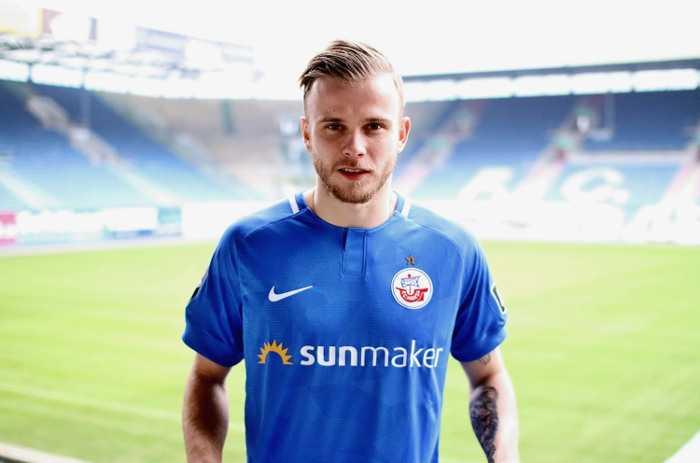 FC Hansa Rostock - Guillaume Cros - Foto: F.C. Hansa Rostock / Paul Titze