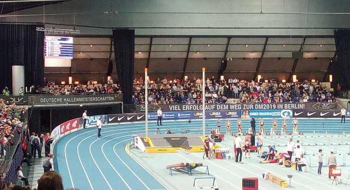 Leichtathletik Deutsche Meisterschaft in der Halle 2019 in Leipzig - Foto: SPORT4FINAL