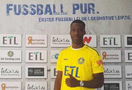 Stephane Mvibudulu - Foto: 1. FC Lok Leipzig