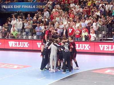 Vardar Skopje VELUX EHF Final4 Halbfinale gegen Barca - Foto: SPORT4FINAL