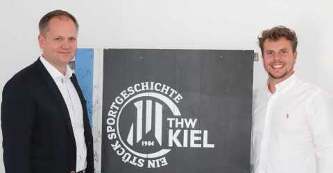 Lagadere Team - Mario Biedermann (li.) und Christian Schmidt - Foto: THW Kiel