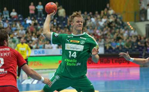 Niclas Pieczkowski - SC DHfK Leipzig - Foto: Rainer Justen