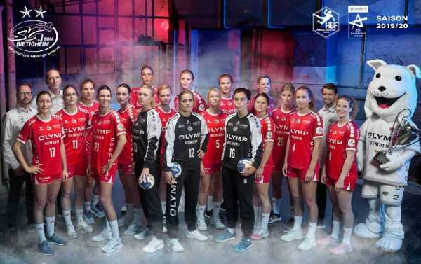 SG BBM Bietigheim vs. Brest Bretagne - Handball Saison 2019-2020 - Bundesliga und EHF Champions League - Foto: SG BBM Bietigheim