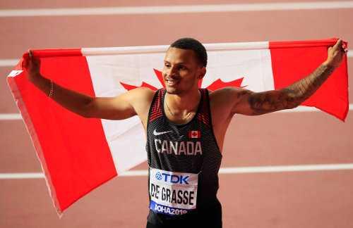 Leichtathletik WM 2019 - Andre de Grasse - Foto: © Getty Images for IAAF