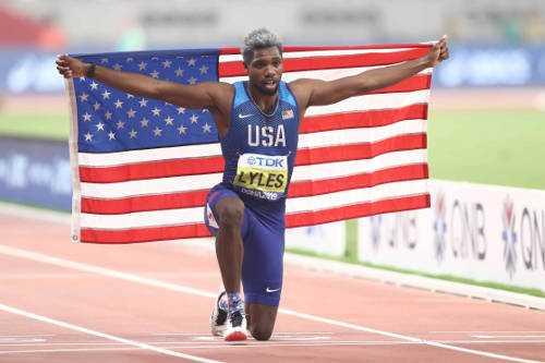 Leichtathletik WM 2019 - Noah Lyles - Foto: © Getty Images for IAAF