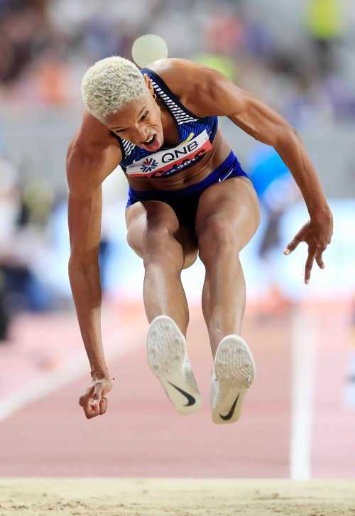 Leichtathletik WM 2019 - Yulimar Rojas - Foto: © Getty Images for IAAF