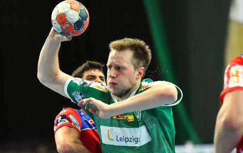Luca Witzke - SC DHfK Leipzig - Foto: Rainer Justen