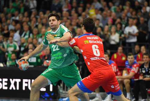 SC DHfK Leipzig vs. HBW Balingen-Weilstetten - Handball Bundesliga - Arena Leipzig am 10.10.2019 - Foto: Rainer Justen