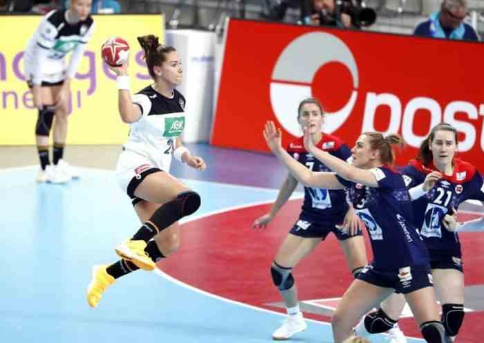 Handball WM 2019 - Emily Bölk - Deutschland vs. Norwegen - Copyright: IHF