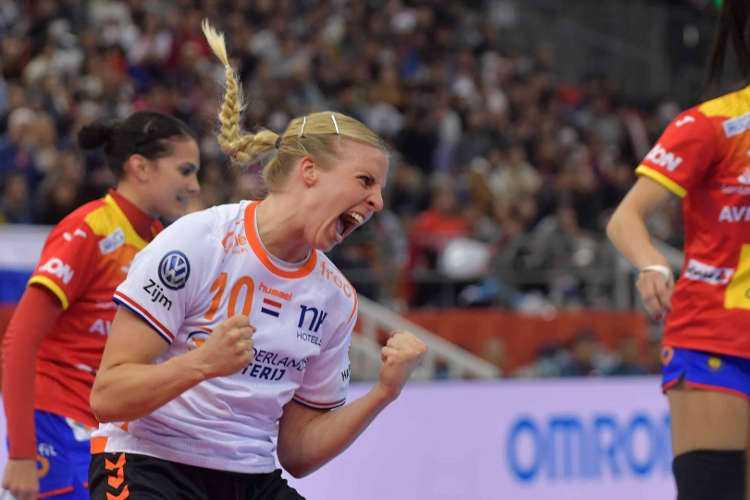 Handball WM 2019 Finale - Niederlande vs. Spanien - Danick Snelder - Copyright: Henk Seppen