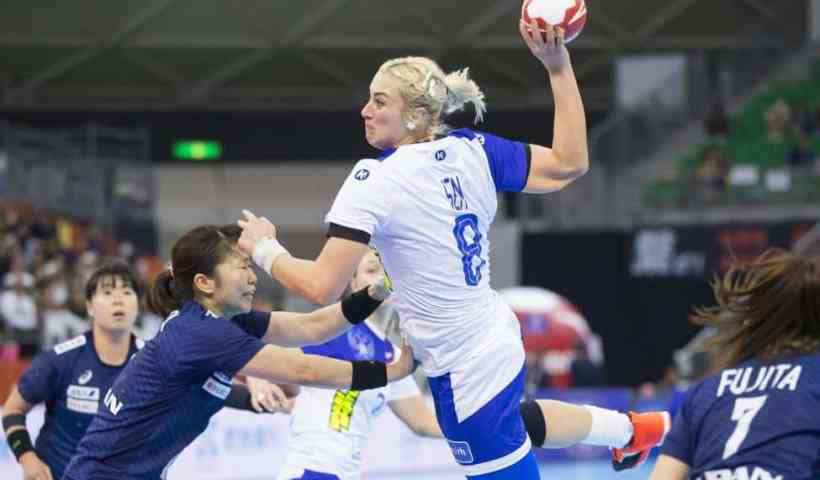 Handball WM 2019 - Russland vs. Japan - Anna Sen - Copyright: IHF