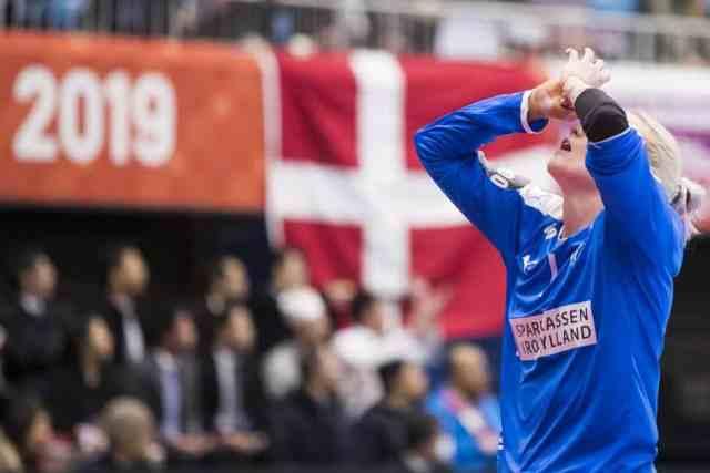 Handball WM 2019 - Sandra Toft - Dänemark vs. Deutschland - Copyright: IHF