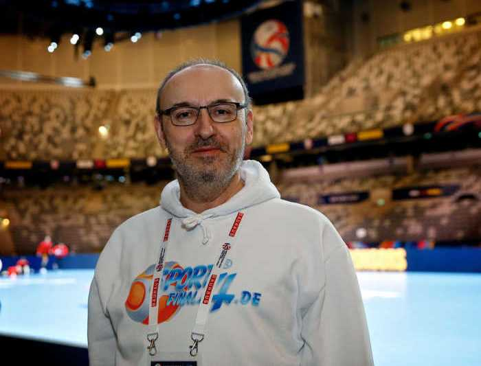 Frank Zepp - Handball EM 2020 - Tele 2 Arena Stockholm - Foto: Joachim Schütz (http://www.stregspiller.com)