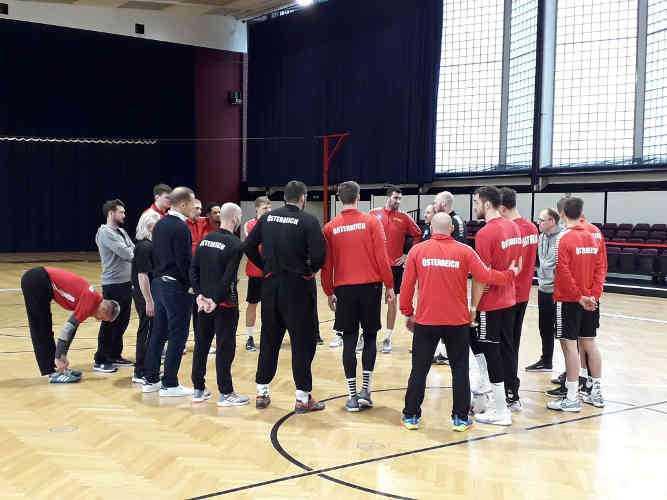 Handball EM 2020 - Team Österreich - Training - Copyright: SPORT4FINAL