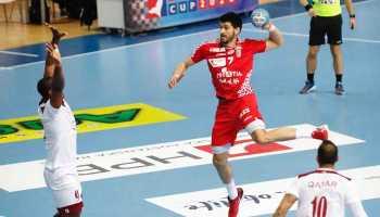 Luka Stepancic - Handball EM Test - Croatia Cup 2020 - Kroatien vs. Katar - Foto: hrsphoto.photodeck.com