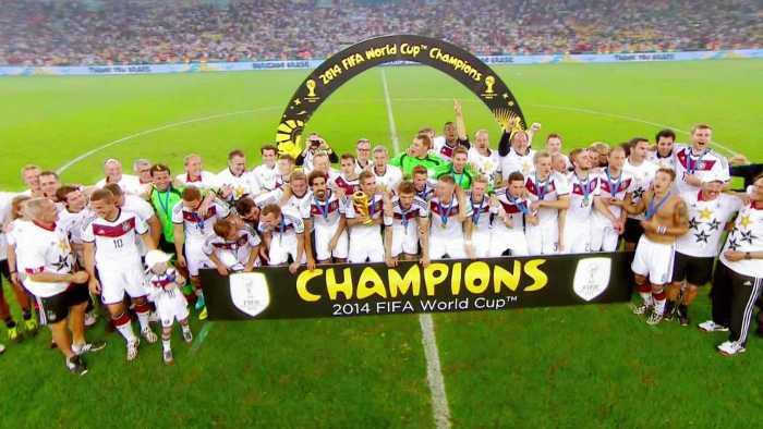 Deutschland - Die Mannschaft - FIFA Fußball WM 2014 - Quelle: FIFA