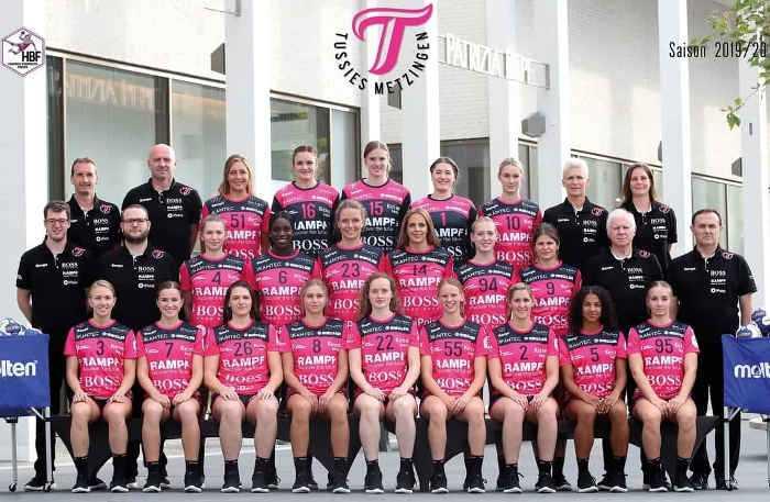 TuS Metzingen - Handball Bundesliga Saison 2019-2020 - Foto: TuS Metzingen