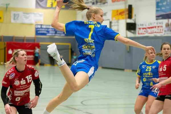 HC Leipzig: Julia Weise (im Bild) und Annabell Krüger verlängerten - Foto: HC Leipzig