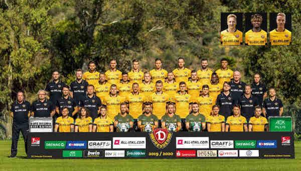 Dynamo Dresden Fußball Bundesliga Saison 2019-2020