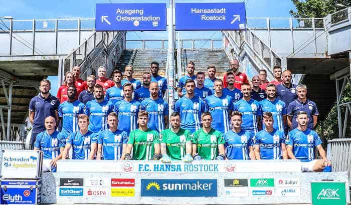 FC Hansa Rostock Fußball Saison 2019-2020