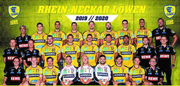 Rhein Neckar Löwen Handball Bundesliga Saison 2019 2020