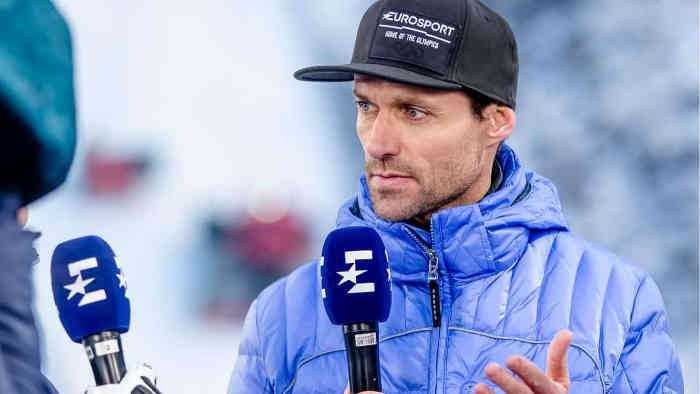 Sven Hannawald im Eurosport Podcast - Copyright: Eurosport/Nadine Rupp