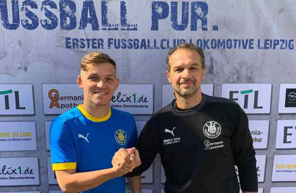 Damir Mehmedovic und Almedin Civa - Foto: 1. FC Lok Leipzig