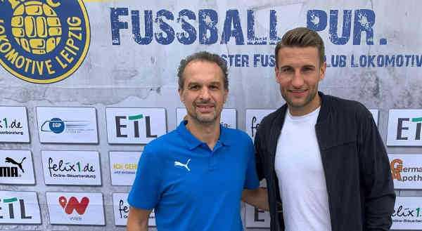 Almedin Civa und David Urban - Foto: 1. FC Lok Leipzig