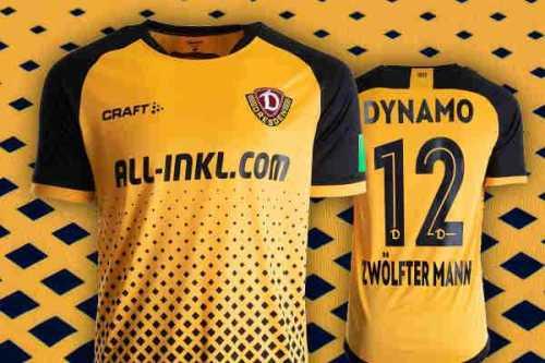 Dynamo Dresden - Heim-Trikot Saison 2020-2021 - Foto: SGD / Dynamo-Fanshop