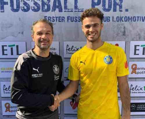 Almedin Civa und Farid Abderrahmane (v.l.) - Foto: 1. FC Lok Leipzig