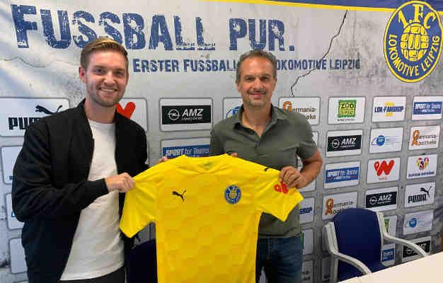 Nils Stendera - Foto: 1. FC Lok Leipzig