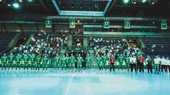 SC DHfK Leipzig - Team Präsentation Handball Bundesliga Saison 2020-2021 - Foto: SC DHfK Leipzig